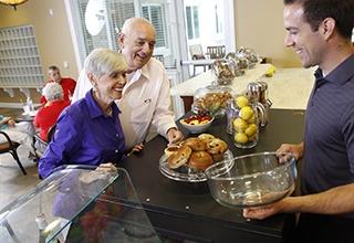 Residents At Aston Gardens At Pelican Marsh Enjoy Healthy Options.