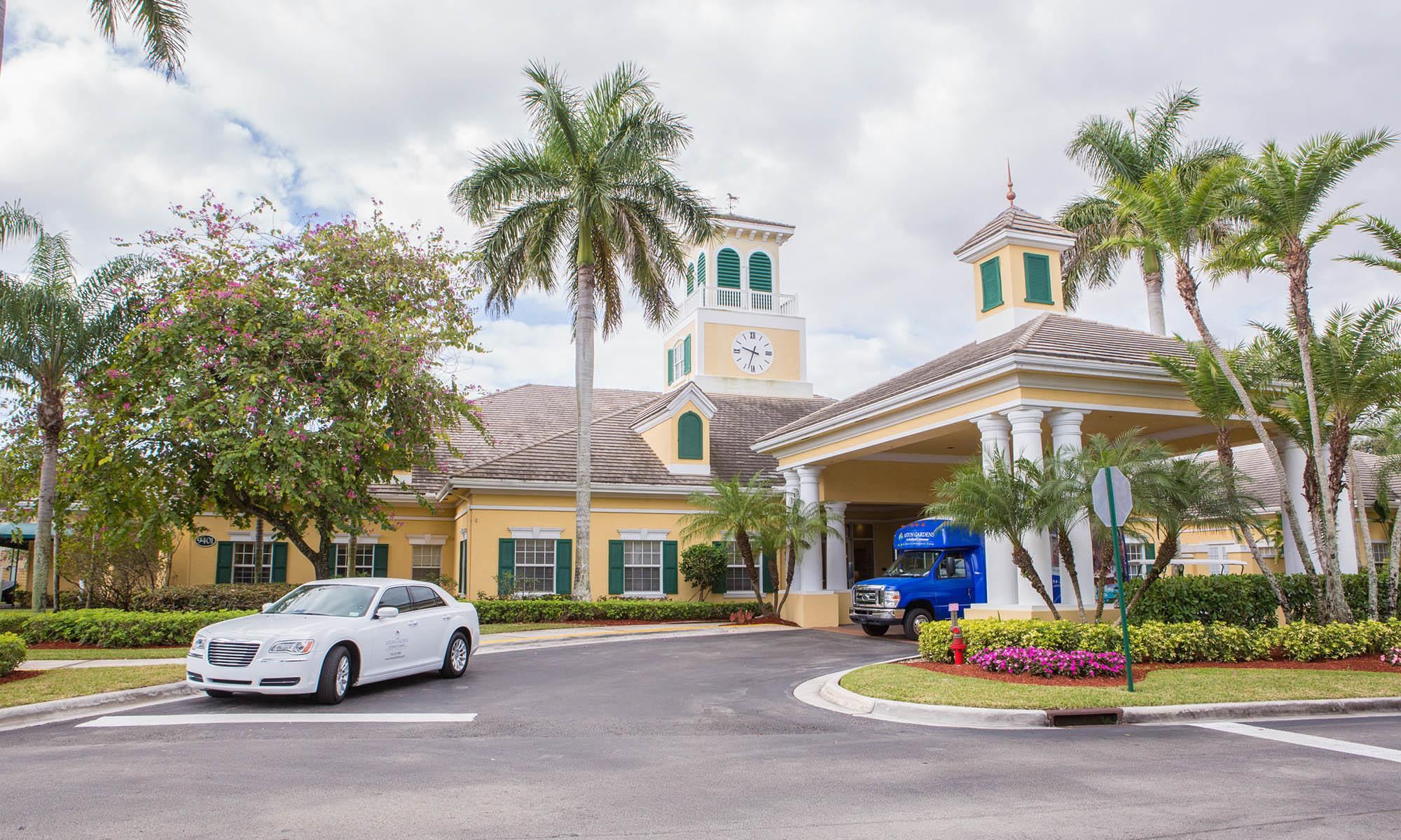 Parkland senior living has a wonderful club house
