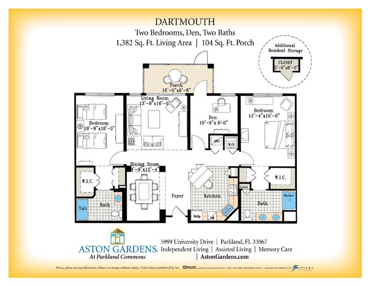 Floor Plans – Senior Independent Living Floor Plans