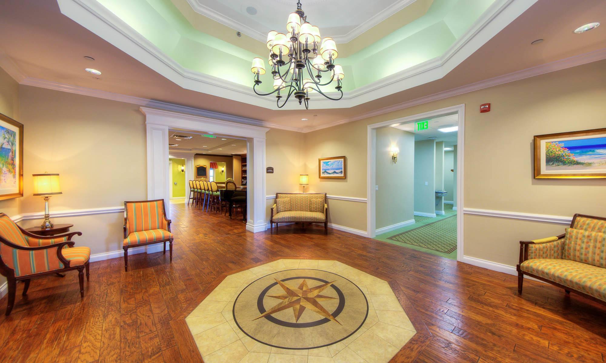 Sun City Center senior living has a wonderful club house