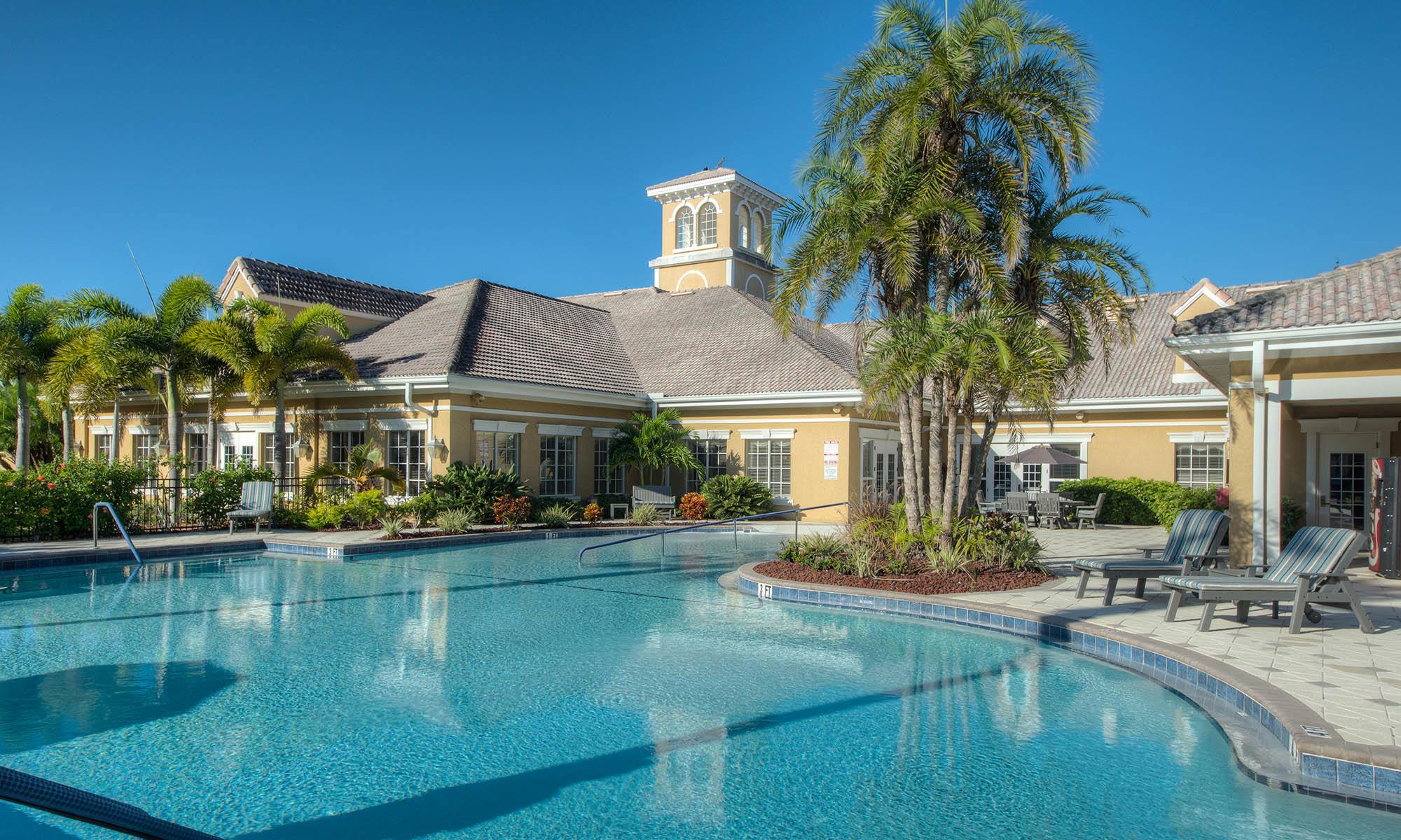 Venice senior living has a wonderful club house