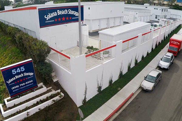 aerial view of our storage facility in San Diego