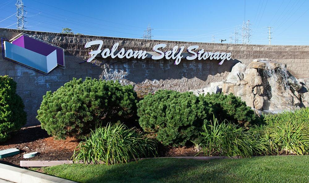 ... Signage At Self Storage In Folsom ...