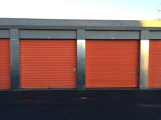 ... Large Exterior Units At The Self Storage Facility In Sacramento