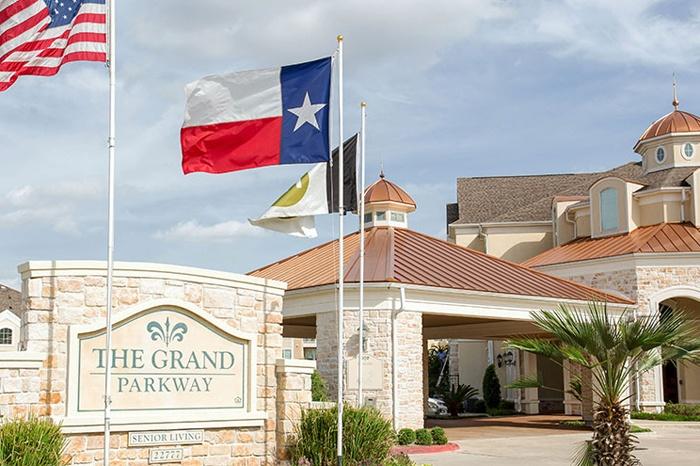 Entrance at Grand Parkway in Katy,TX