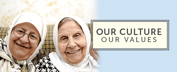 Learn more about the values and culture we hold dear at Laurel Hill Nursing Center.