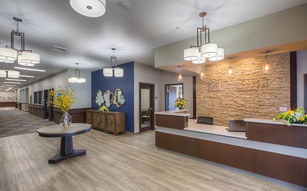 Lobby at Regency Wenatchee Rehabilitation and Nursing Center in Wenatchee, WA