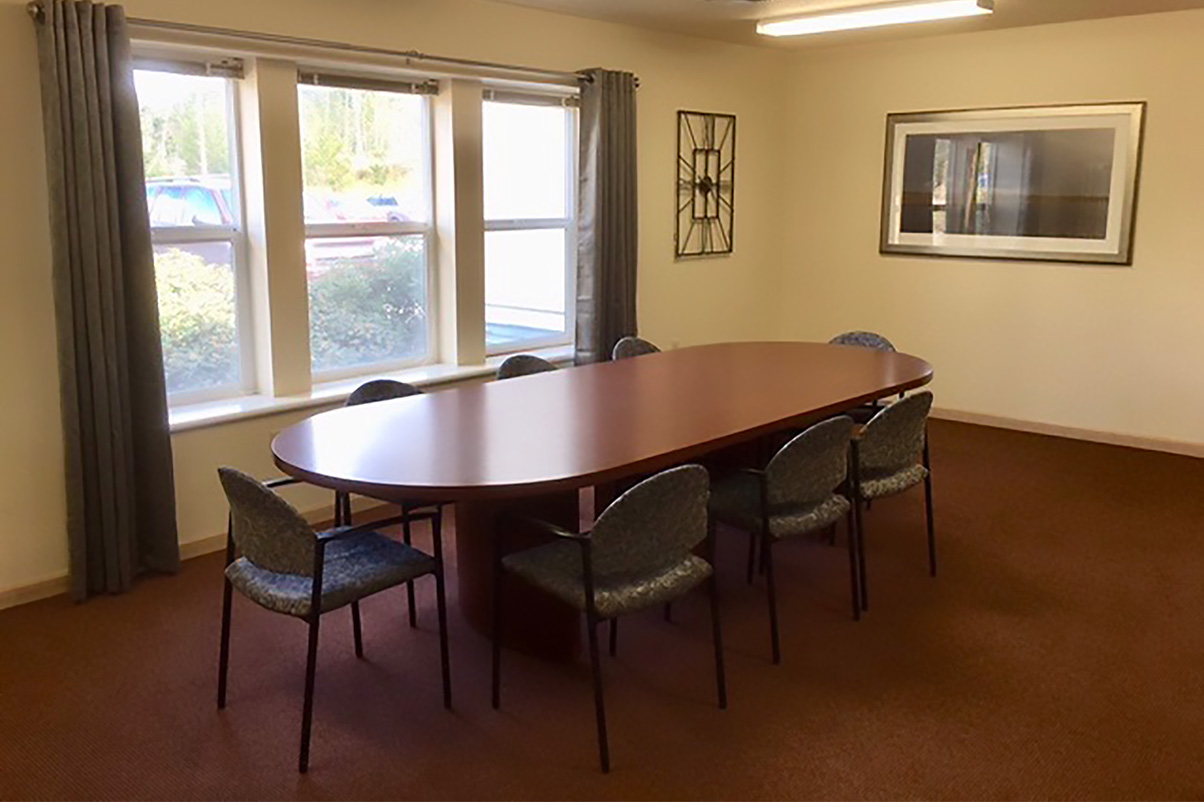 large table with chairs