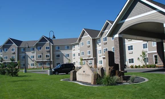 Exterior of the facility at Parkview Estates in Kennewick, WA