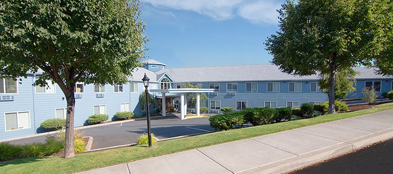 Exterior of the Senior living community in Redmond, Oregon