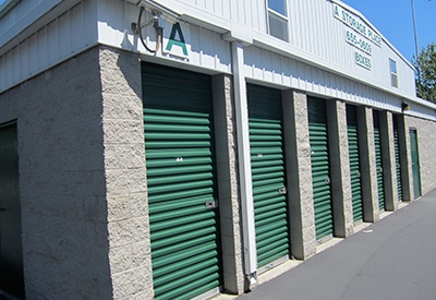 Image of our secure storage facility here at A Storage Place