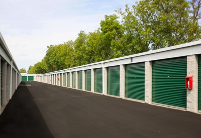 Merveilleux ... Another Image Of Our Secure Storage Facility Here At A Storage Place ...