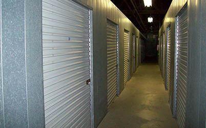 Hallway in B Building