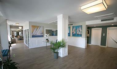 Common area in Winter Haven apartments