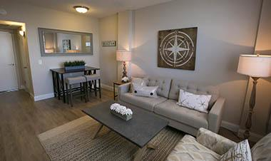 Apartments in Winter Haven include spacious living rooms