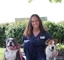 Kayla of Stateline Hillcrest Small Animal Hospital