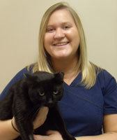 Tori at Sioux Falls Animal Hospital