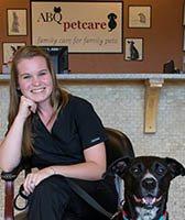 Kayla at Albuquerque Animal Clinic