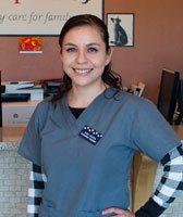 Rubi at Albuquerque Animal Clinic