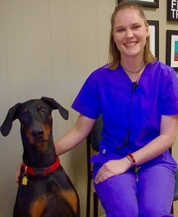 Lillian at Baton Rouge Animal Clinic