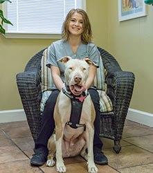 Aimee at Grandview Veterinary Clinic