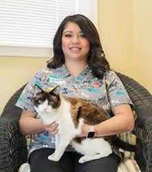Ashley at Grandview Veterinary Clinic