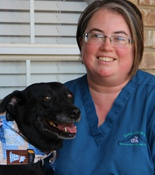 Cindy at Grandview Veterinary Clinic