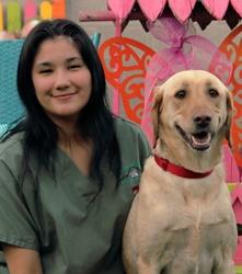 Daniella at Grandview Veterinary Clinic