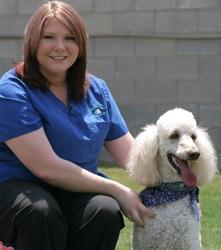 Terra at Grandview Veterinary Clinic