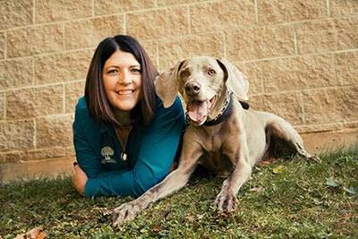 Stephanie Neavor, LVT, Hospital Administrator at Oak Knoll Animal Hospital animal clinic.
