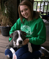 Gina at Minooka Animal Clinic