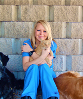 Emily Lechtenberg of Holladay Veterinary Hospital in Salt Lake City