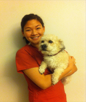 Holladay Veterinary Hospital receptionist Jessica Ku