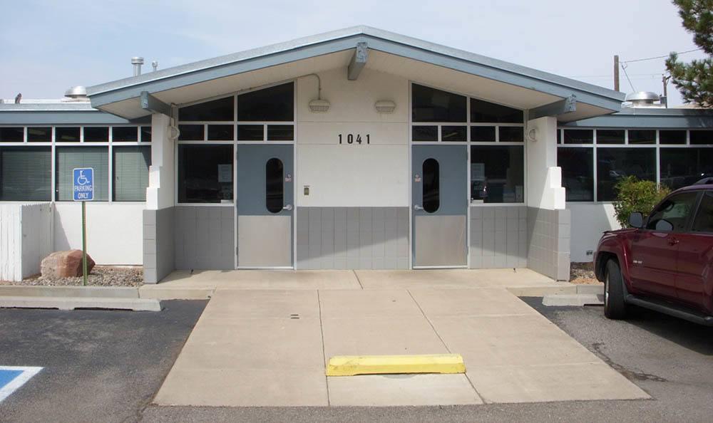 Exterior at Albuquerque animal hospital