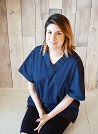 Team member Marnie at Okanagan Veterinary Hospital