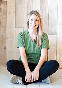 Team member Rachel at Okanagan Veterinary Hospital