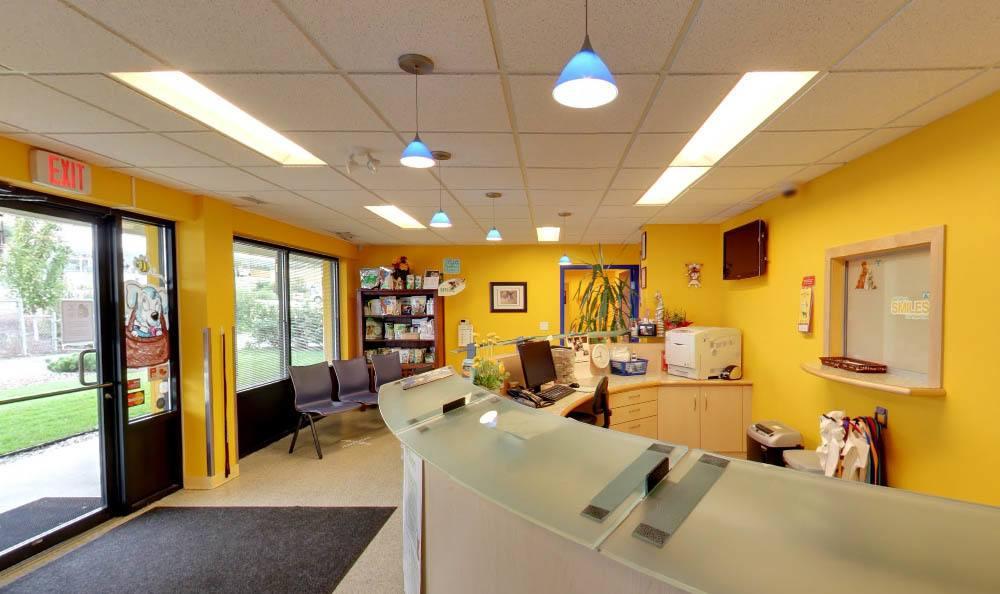 Main office at Kelowna Animal Hospital