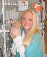 Danielle at Tonawanda Animal Hospital