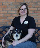 Melissa Pinkert Wirt, RVT at Sioux Falls Animal Hospital