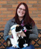 Tabitha Stockman, CVT at Sioux Falls Animal Hospital