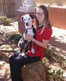 Kelli at Lubbock animal hospital