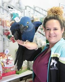 Sonya Rayner, Receptionist at Bradenton Animal Hospital