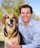 Bret Andrea at animal hospital in Scottsdale