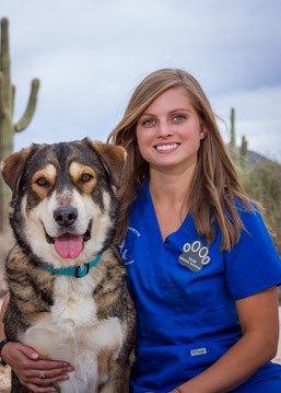 Sarah Whalen, Veterinary Technician at Scottsdale Animal Hospital