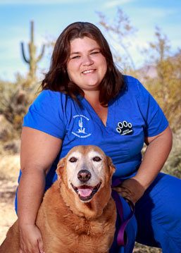 Jessica Bond at Scottsdale Animal Hospital