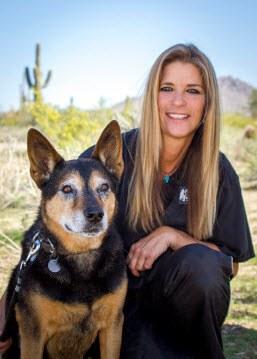 Laura Dearness at Scottsdale Animal Hospital