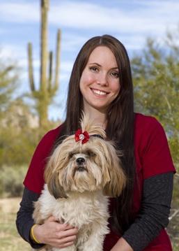 Savanna Connor at Scottsdale Animal Hospital