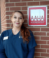 Ashley at Wheaton Animal Clinic