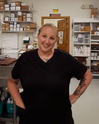 Ashley, Technician at Chicopee Animal Clinic