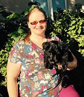 Team member Andrea at All City Pet Care Veterinary Emergency Hospital